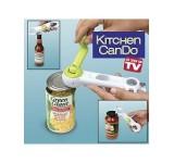 Multi 8 in-1 Functions Kitchen CanDo Tin Jar Bottle Opener